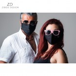 Mask in 100% cotton intensive use for Adults